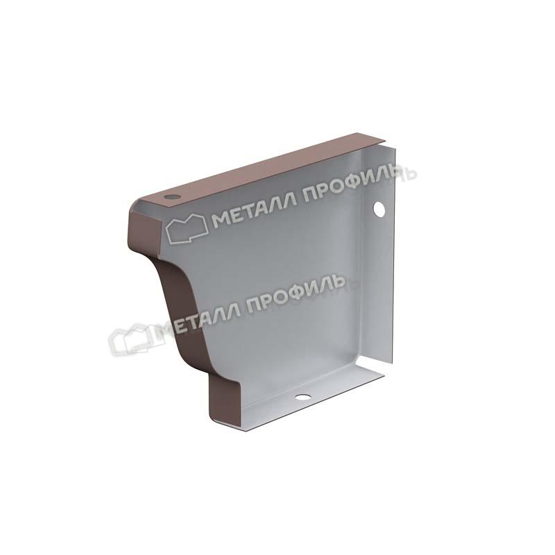 Заглушка желоба 120х86 левая (ПЭ-01-RR32-0.5) : купить в Москве по 35.00. Обращайтесь к нам — в компанию «Металл Профиль»